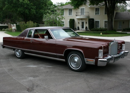 1977 Lincoln Town Coupe - Old-Timer, Town, Car, Lincoln
