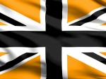 Gold & Black Union Jack