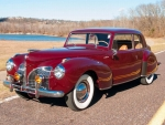 1941 Lincoln Continental Coupe, V-12, 3-spd Manual
