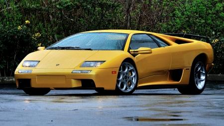 2000 Lamborghini Diablo Vt 6 0 Lamborghini Cars Background