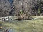 Swollen Mohican River in Spring