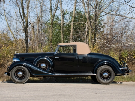 Buick Series 90 Convertible Coupe 1934 - Old-Timer, Coupe, Convertible, Buick, Car, Series 90