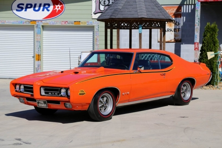 1969 Pontiac GTO Judge 400 Ram Air III Factory Air - Judge, Muscle, 400, GTO, Old-Timer, Pontiac, Factory, Car, Air III, RAM