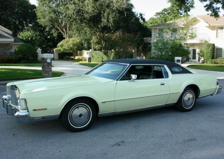 1974 Lincoln Mark IV Coupe - Old-Timer, Coupe, Car, Lincoln, Mark IV