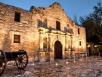 View of the Historic Alamo