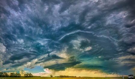 Tornado - tornado, clouds, storm, nature
