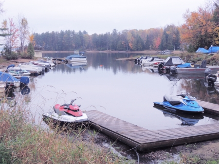 Boats At The Marina - Marina, Lake, Photography, Boats, Autumn