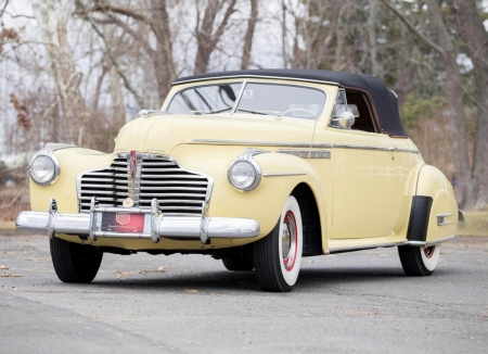 1941 Buick Roadmaster Convertible - Old-Timer, Convertible, Buick, Car, Roadmaster