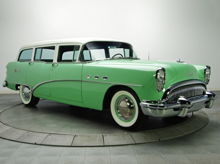 Buick Special Estate Wagon 1954 - Old-Timer, Buick, Car, Special, Estate, Wagon