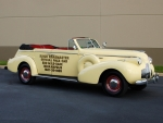 Buick Roadmaster Sport Phaeton Plain Back Indy 500 Pace Car 1939