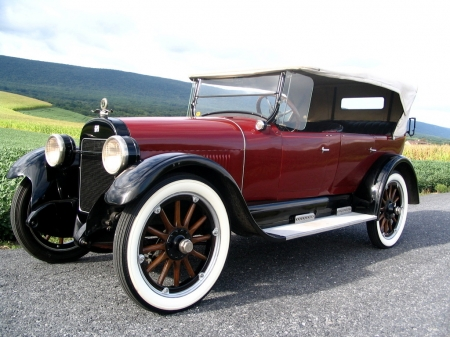 Buick Series 23-45 Touring 1923 - Old-Timer, Red, Buick, Car, Touring, Series 23-45