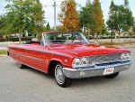 1963 Ford Galaxie 500 Convertible Factory 'Z' Code 390 Big Block 4-Speed