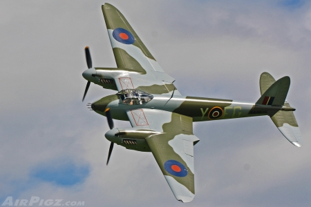 De Havilland Mosquito - RAF, Royal Air Force, World War Two, British Aircraft, De Havilland Mosquito