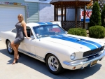 1965 Ford Mustang Shelby GT 350 Clone Built 289 Tremec 5 Speed Power Rack and Girl