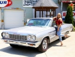 1964 Chevy Impala SS 409 Tribute and Girl