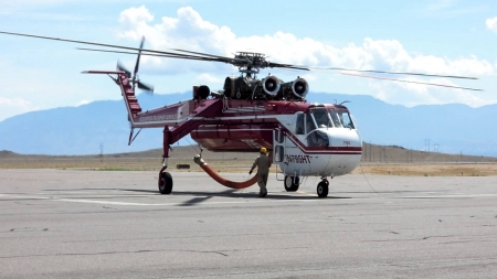 Sikorsky S-64 Firefighting - Helicopter, S-64, Firefighting, Sikorsky