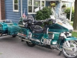 2002 Honda Gold Wing GL 1500SE with Trailer
