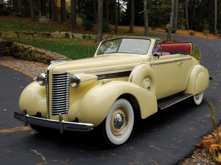 Buick Special Convertible Coupe 1938 - Old-Timer, Coupe, Convertible, Buick, Car, Special