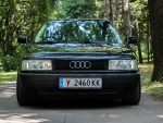 Audi 80 stance front view