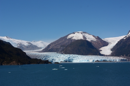 Amalia Glacier in Chile - Ice, Nature, Glaciers, Oceans