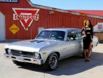 1969 Chevy Nova SS 350 and Girl