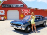 1969 Chevy Nova Yenko 427 4-Speed 12 Bolt and Girl
