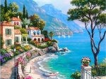 Seaside in Italy