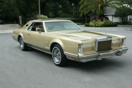 1978 Lincoln Mark V Diamond Jubilee - Old-Timer, Car, Mark V, Diamond, Jubilee, Lincoln