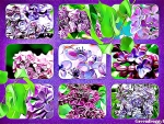 ABSTRACT LILAC COLLAGE