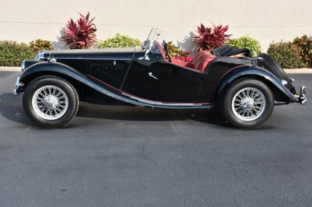 1954 MG TD TF Roadster - Old-Timer, MG, Car, TF, Roadster, TD