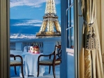 Vacations on Paris terrace