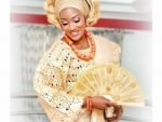 Nigerian Wedding With Hand Fan