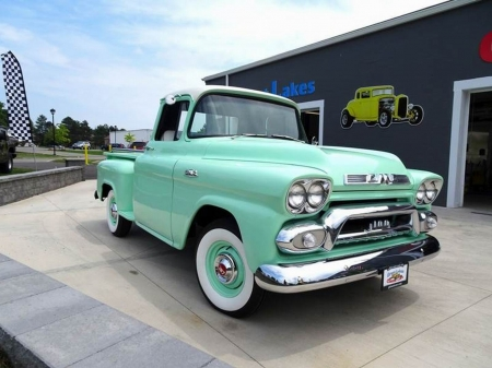 1959 GMC 101 Task Force - Old-Timer, Truck, Task, GMC, Force, 101