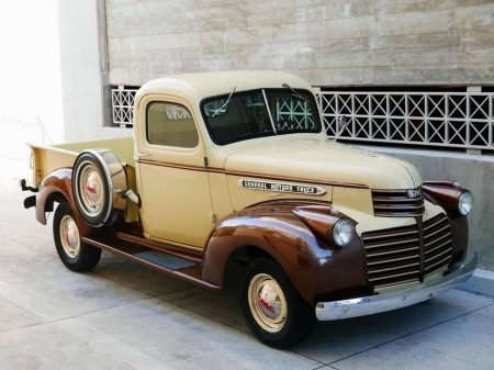 1947 GMC Pick Up Short Bed - Short, Old-Timer, Pick Up, Truck, Bed, GMC