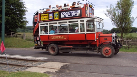 aec type s double deck bus - double, deck, aec, bus