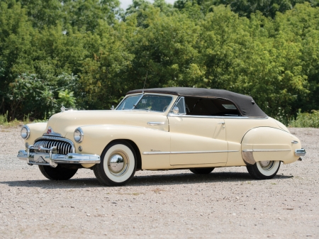 1947 Buick Roadmaster Convertible - Old-Timer, Convertible, Buick, Car, Roadmaster