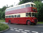 northern double decker bus