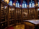 John Rylands Library Reading Room