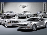 Platinum Mustangs