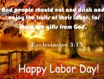 Bible Reference To Labor Day . .