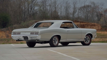1967 Pontiac GTO - Silver, Classic, GM, Muscle