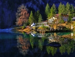 Blausee lake-Switzerland