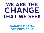 Barack Obama, The Change We Seek