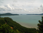 View from Phuket, Thailand