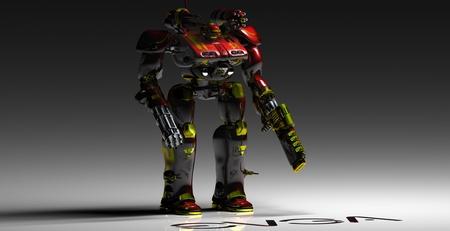 EVGABOT - robot, nvidia, red, evga