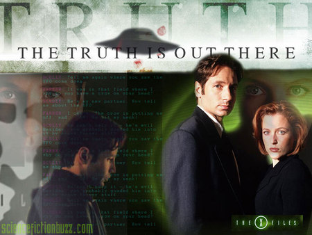 X Files - The Truth is Out  X Files The Truth Is Out There