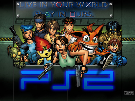 Playstation 2 creation lab other video games background wallpapers on desktop nexus image - Video game live wallpapers ...
