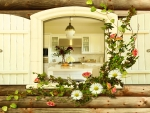 Country Kitchen in Spring