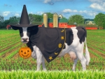 Halloween Cow (for Elaine)