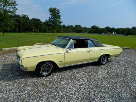 1964 Oldsmobile Cutlass F-85 Convertible 330 V8 Automatic - Oldsmobile, V8, Muscle, F-85, Old-Timer, Convertible, Automatic, Car, Cutlass, 330